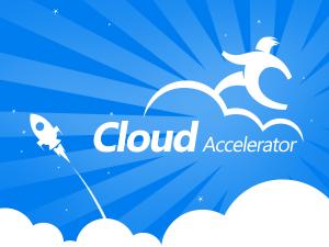 微软云加速器 品牌设计